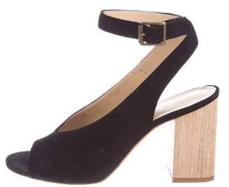 M.Gemi M. Gemi Suede Ankle Strap Sandals