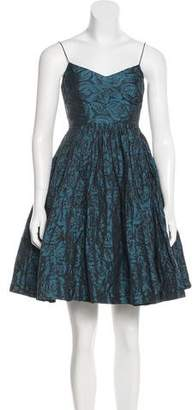 Tracy Reese Ruched Mini Dress