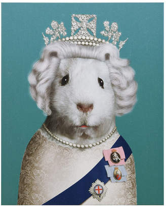 """Empire Art Direct Pets Rock 'Hrh' Graphic Art on Wrapped Canvas Wall Art - 20"""" x 16"""""""