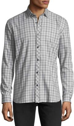 Jared Lang Gingham Sport Shirt