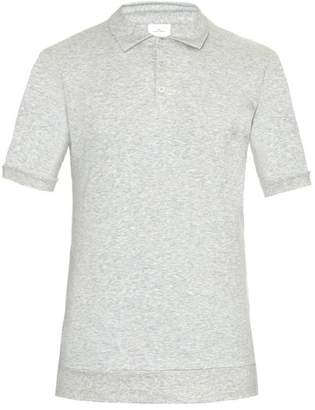 THE WHITE BRIEFS Maier Cotton Polo Shirt - Mens - Grey