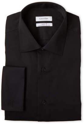 Calvin Klein Black Regular Fit Performance Shirt