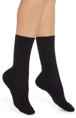 Nordstrom Cashmere Blend Crew Socks