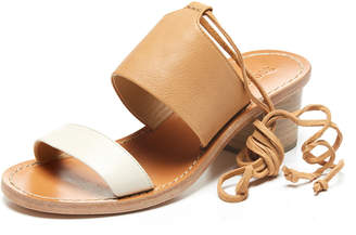 Milly SOLUDOS COLORBLOCK MIDHEEL SANDAL