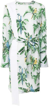 Stella McCartney palm print dress