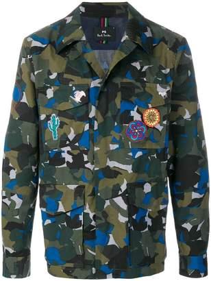 Paul Smith camouflage shirt jacket