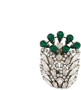 Sonia Rykiel crystal embellished brooch