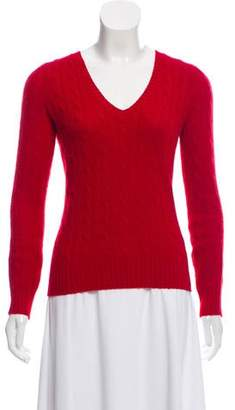Henri Bendel Cashmere V-Neck Sweater
