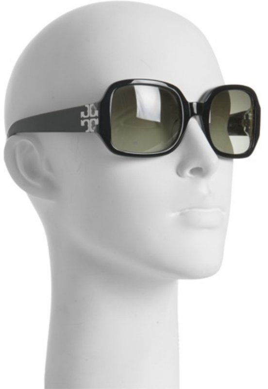 Tory Burch black square-shaped sunglasses