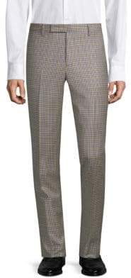 Paul Smith Wool Check Pants