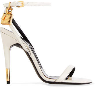 TOM FORD - Leather Sandals - Off-white $890 thestylecure.com