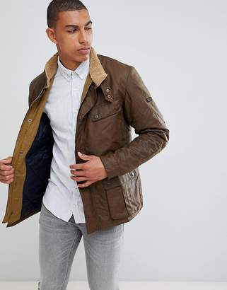 Barbour International Viscount Jacket in Brown