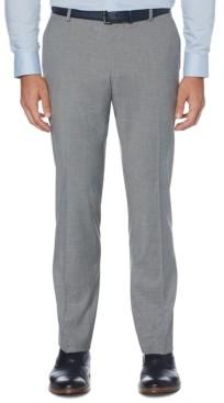 Perry Ellis Men's Portfolio Slim-Fit Stretch Check Dress Pants