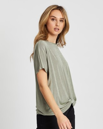 Wallis Slinky Knot Top