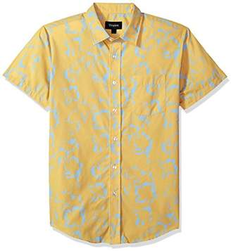 Brixton Men's Stuart Standard Fit Short Sleeve Woven Shirt