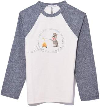 Ganni Cowboy Cat T-Shirt in Paloma Melange
