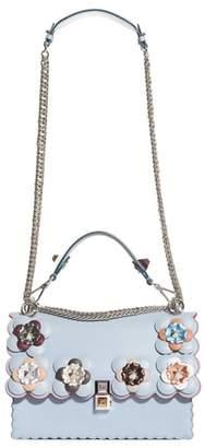 Fendi Kan I Liberty Leather Shoulder Bag