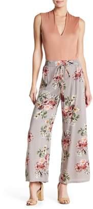Angie Print Wide Leg Pants