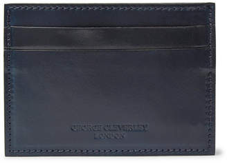 George Cleverley Horween Shell Cordovan Leather Cardholder
