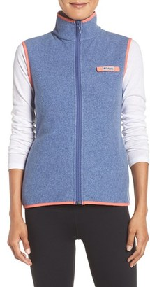 Women's Columbia Sportswear 'Harborside' Fleece Vest $50 thestylecure.com