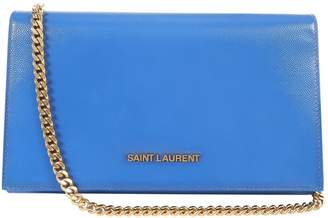 Saint Laurent Leather Clutch Bag