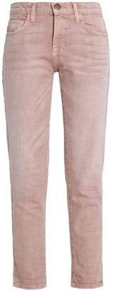 Current/Elliott High-Rise Straight-Leg Jeans