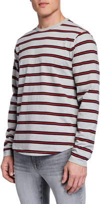 Frame Men's Striped Long-Sleeve T-Shirt