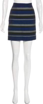 Proenza Schouler Striped Mini Skirt