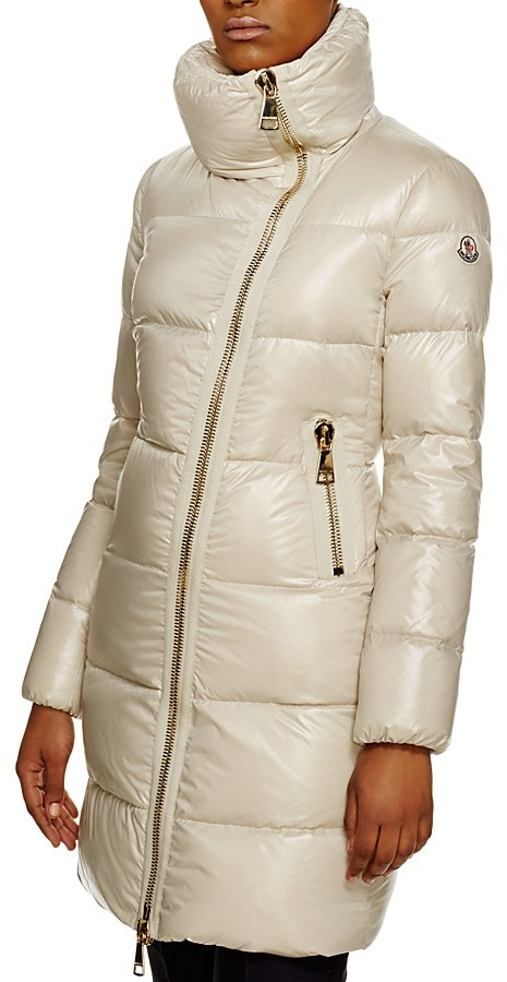 Moncler Moncler Joinville Asymmetric Zip Down Jacket