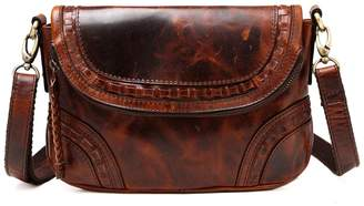 Vicenzo Leather Brie Leather Crossbody Bag