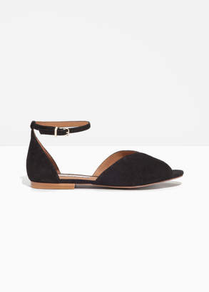 And other stories Suede Strap Sandal