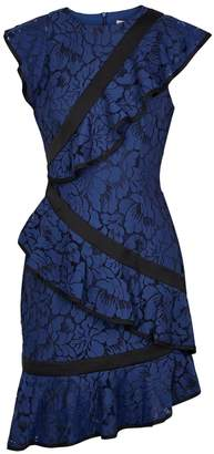 Keepsake Encore Asymmetric Lace Dress