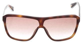 Marc Jacobs Tortoiseshell Shield Sunglasses