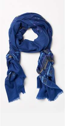 J.Mclaughlin Reed Scarf in Forager