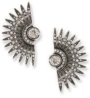 Lulu Frost Beacon Crystal Stud Earrings $225 thestylecure.com