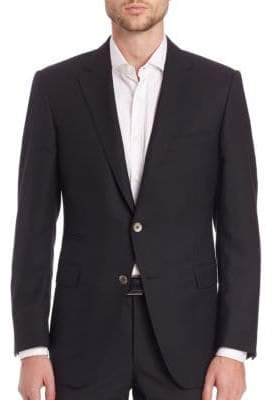 Saks Fifth Avenue COLLECTION BY SAMUELSOHN Classic-Fit Wool Sportcoat