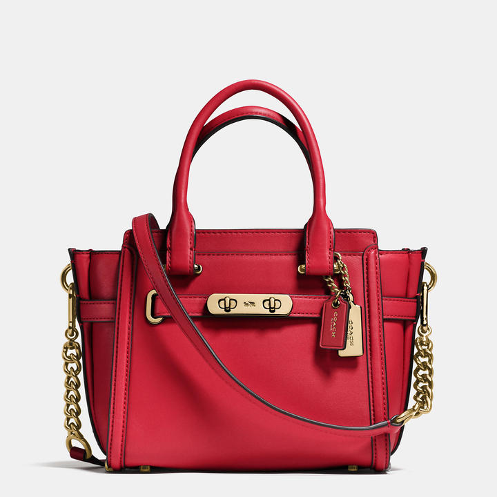 Coach   COACH Coach Swagger 21 In Glovetanned Leather