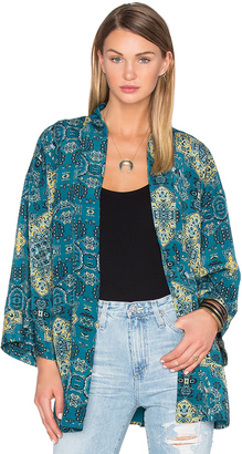 House of Harlow x REVOLVE Kora Bed Jacket $198 thestylecure.com