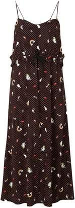 DAY Birger et Mikkelsen Vivetta patterned slip-style dress