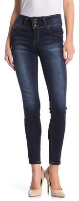 YMI Jeanswear Outerwear Wanna BettaButt 3-Button Mid-Rise Skinny Jeans