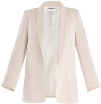 Paisie Open Front Blazer With Shawl Lapel In Cream