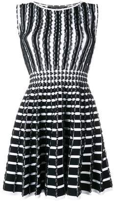 Valenti Antonino ruffle-trim flared dress