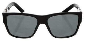 Versace Logo Tinted Sunglasses