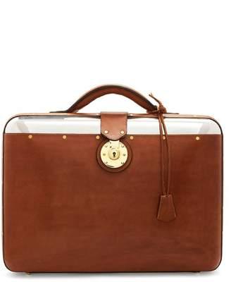 Lee Passavant And No. 25 Aluminium Shell Briefcase - Mens - Tan