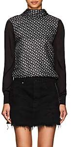 "Alexander Wang Women's ""CEO"" Silk Top - Black"