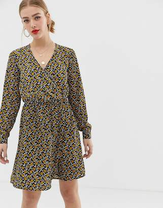 Only Wrap Floral Dress