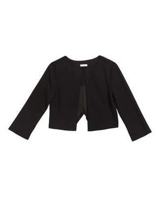 Sally Miller Girl's Cross Back Techno Crepe Jacket, Size S-XL