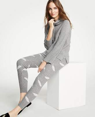 Ann Taylor Petite Feather Joggers