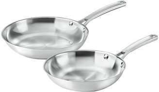 Calphalon Classic 2-pc. Stainless Steel Fry Pan Set