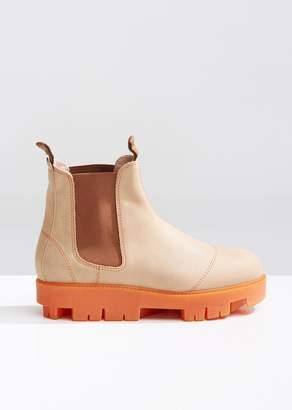 Acne Studios Tillay Waxed Ankle Boots